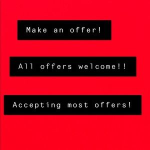 Other - Accepting all offers! No offer is too low!